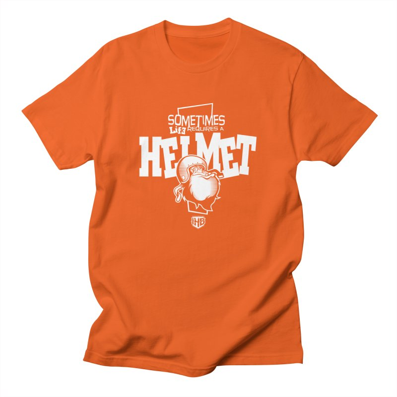 IBH HELMET Men's T-Shirt by Dogwings