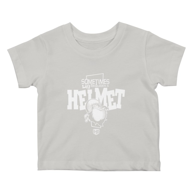 IBH HELMET Kids Baby T-Shirt by Dogwings