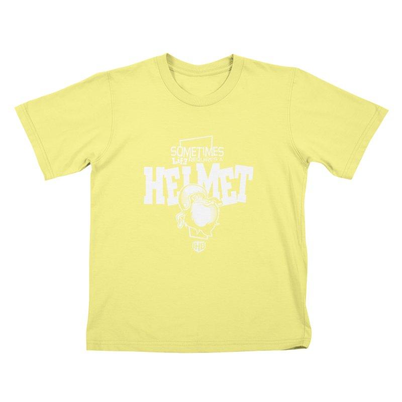 IBH HELMET Kids T-shirt by Dogwings