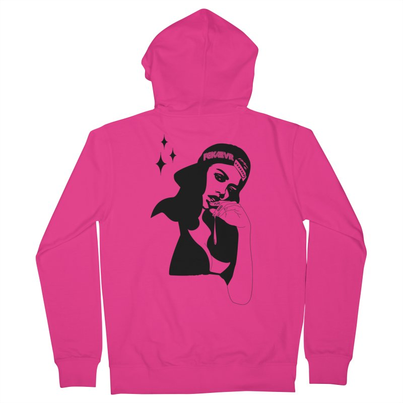 Play Hard Men's Zip-Up Hoody by DolceQ's Artist Shop