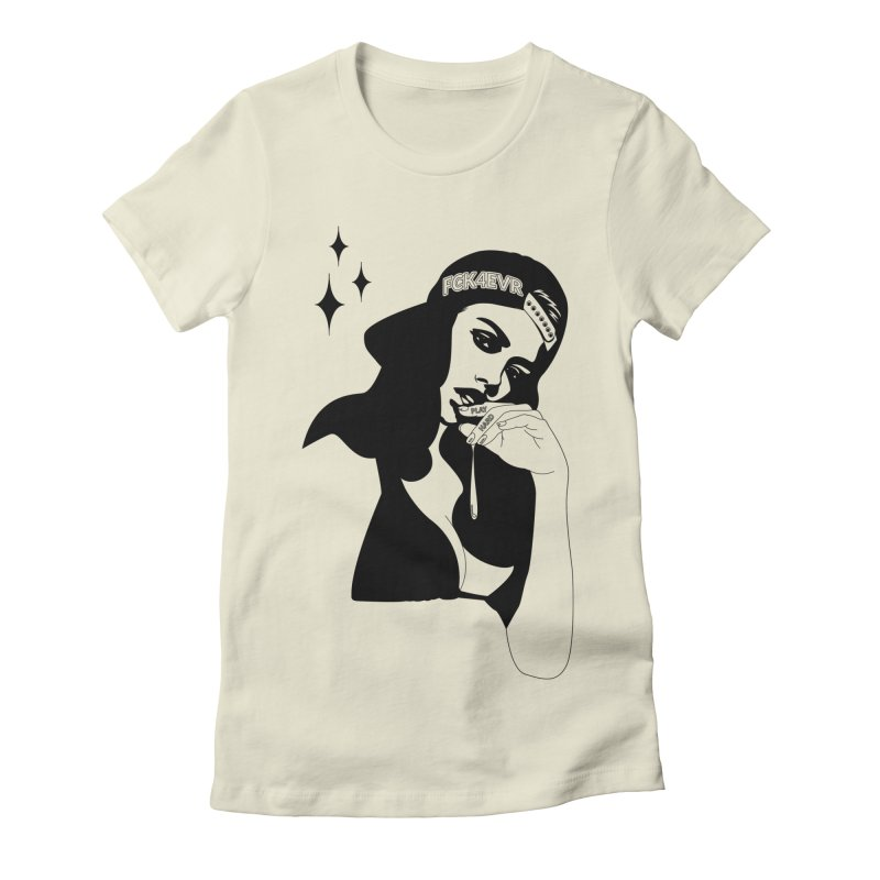 Play Hard Women's T-Shirt by DolceQ's Artist Shop
