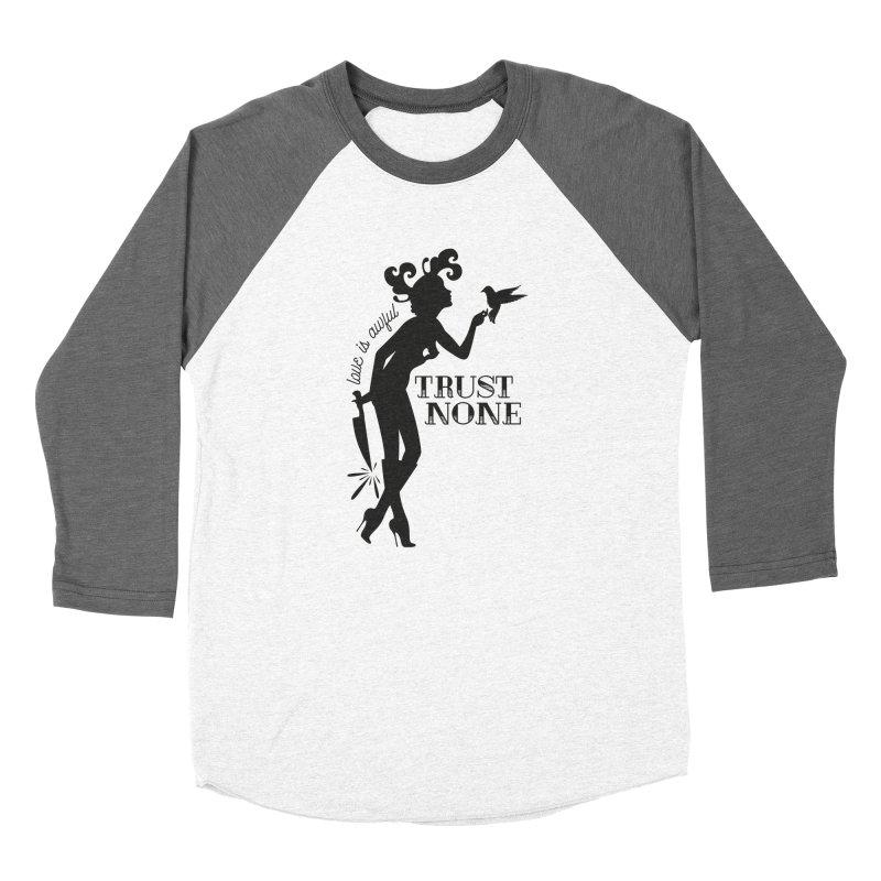 Trust None Men's Longsleeve T-Shirt by DolceQ's Artist Shop