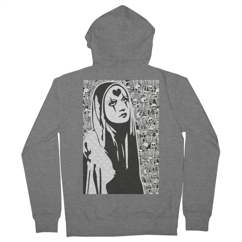 MiaDonna Women's Zip-Up Hoody by DolceQ's Artist Shop