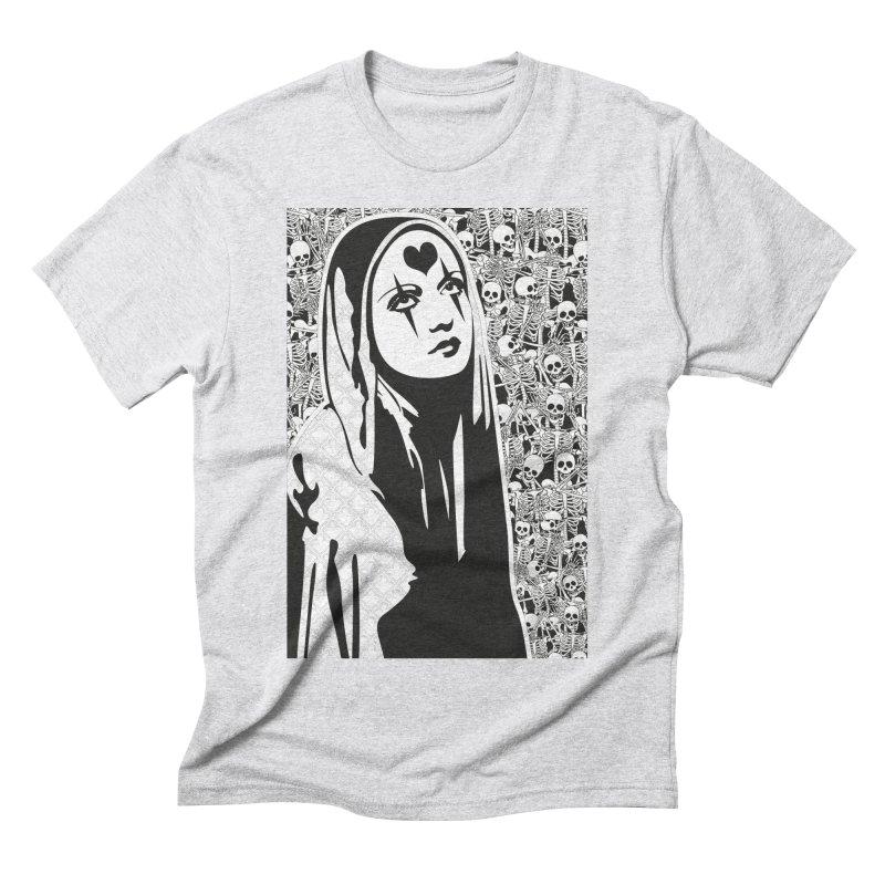 MiaDonna Men's Triblend T-Shirt by DolceQ's Artist Shop