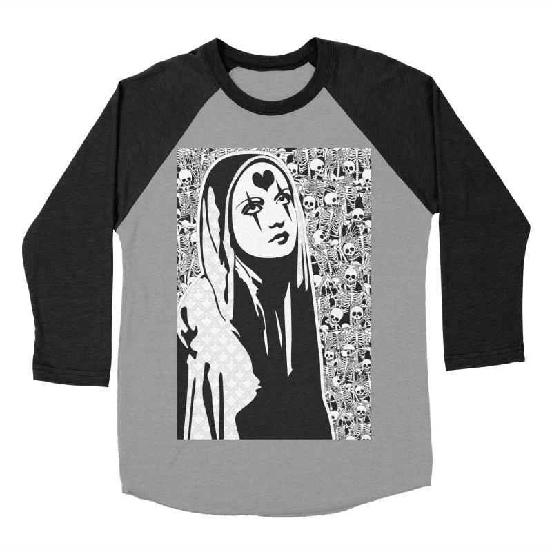 MiaDonna Women's Baseball Triblend Longsleeve T-Shirt by DolceQ's Artist Shop