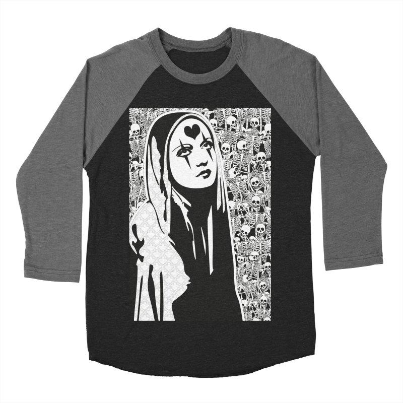 MiaDonna Men's Baseball Triblend T-Shirt by DolceQ's Artist Shop