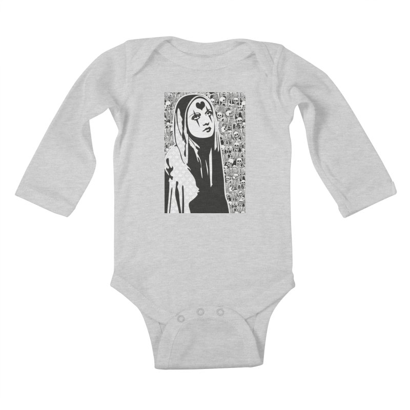 MiaDonna Kids Baby Longsleeve Bodysuit by DolceQ's Artist Shop
