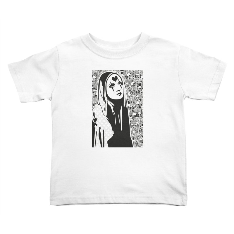 MiaDonna Kids Toddler T-Shirt by DolceQ's Artist Shop