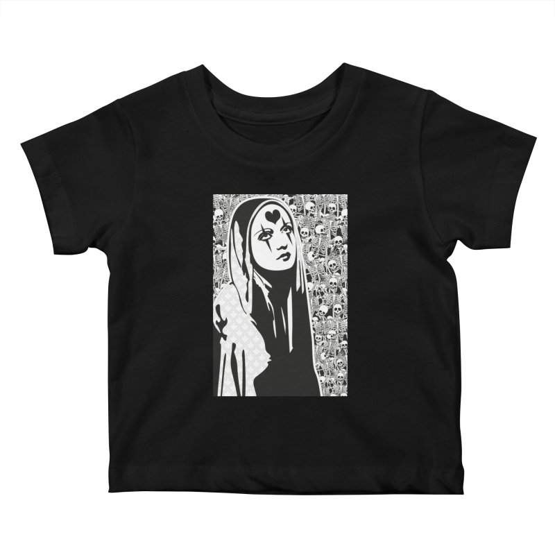 MiaDonna Kids Baby T-Shirt by DolceQ's Artist Shop