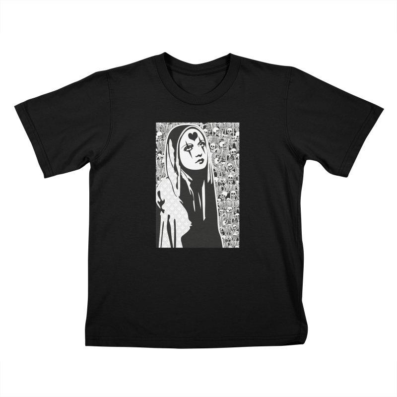MiaDonna Kids T-Shirt by DolceQ's Artist Shop