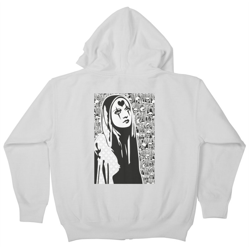 MiaDonna Kids Zip-Up Hoody by DolceQ's Artist Shop