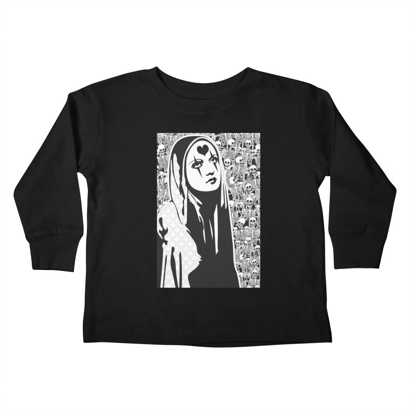 MiaDonna Kids Toddler Longsleeve T-Shirt by DolceQ's Artist Shop