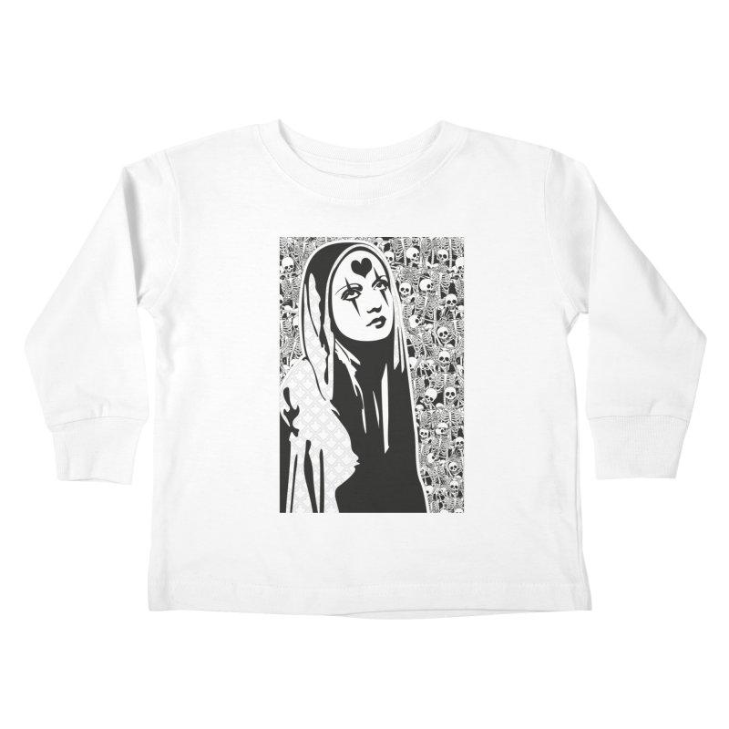 MiaDonna Kids Toddler Longsleeve T-Shirt by DolceQ's Artist Shop