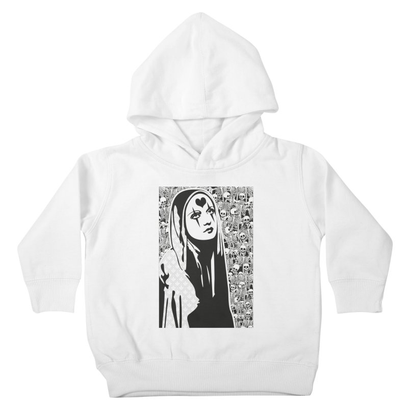 MiaDonna Kids Toddler Pullover Hoody by DolceQ's Artist Shop