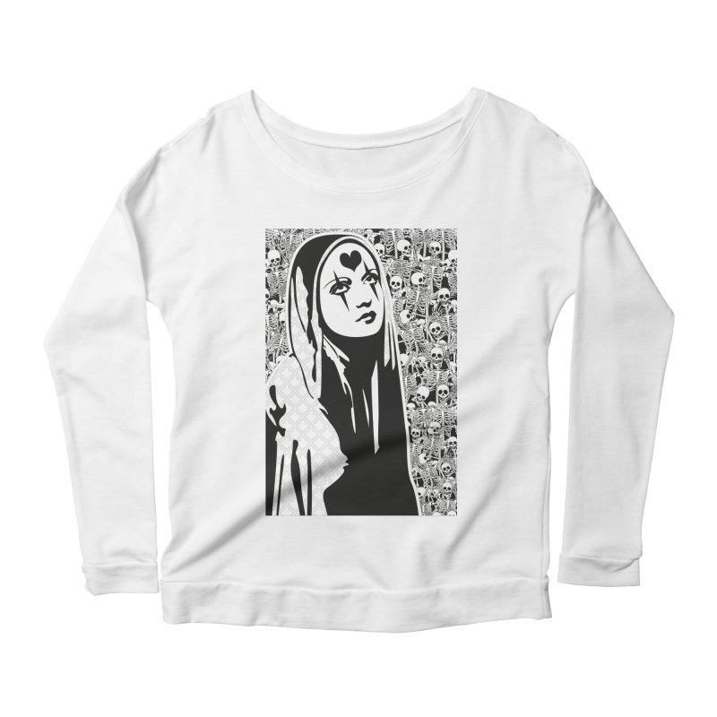MiaDonna Women's Scoop Neck Longsleeve T-Shirt by DolceQ's Artist Shop