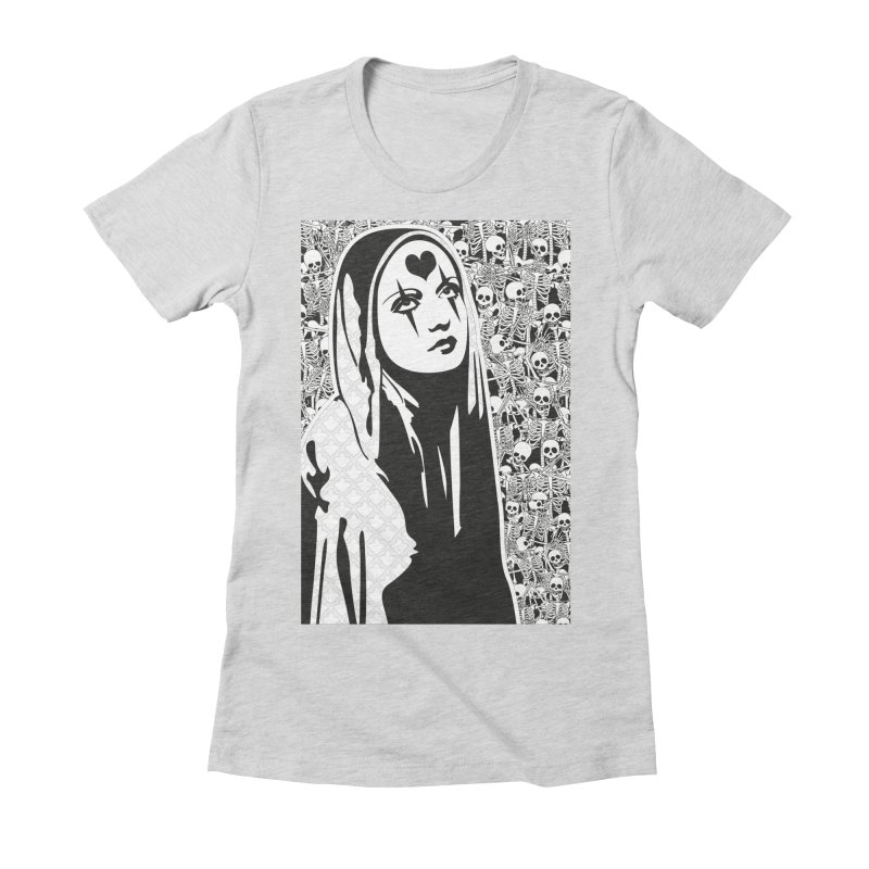 MiaDonna Women's Fitted T-Shirt by DolceQ's Artist Shop