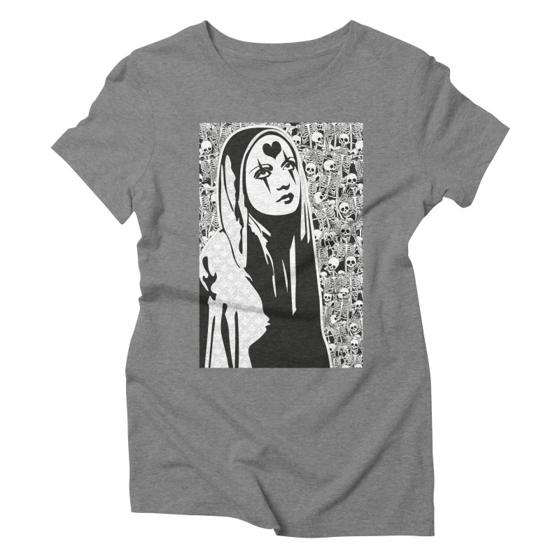 MiaDonna Women's Triblend T-Shirt by DolceQ's Artist Shop