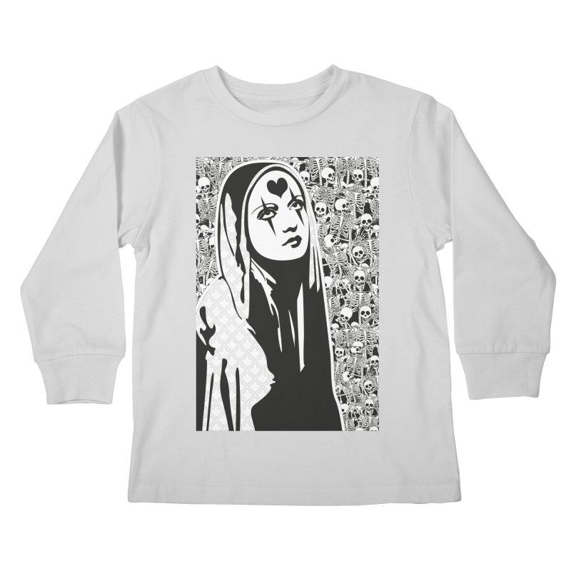 MiaDonna Kids Longsleeve T-Shirt by DolceQ's Artist Shop