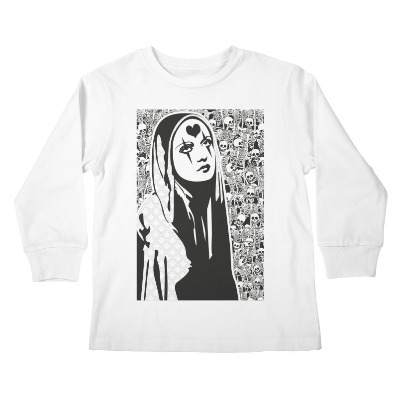 MiaDonna Kids Longsleeve T-Shirt by DolceQ's Artist Shop