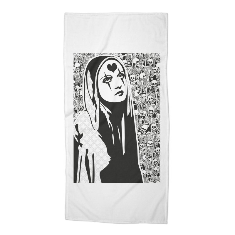 MiaDonna Accessories Beach Towel by DolceQ's Artist Shop