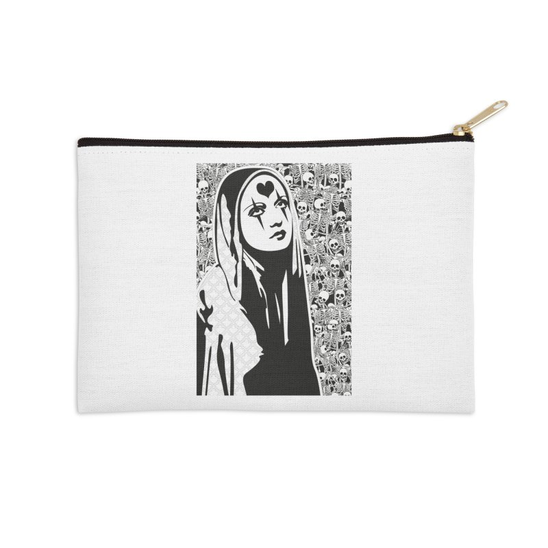 MiaDonna Accessories Zip Pouch by DolceQ's Artist Shop