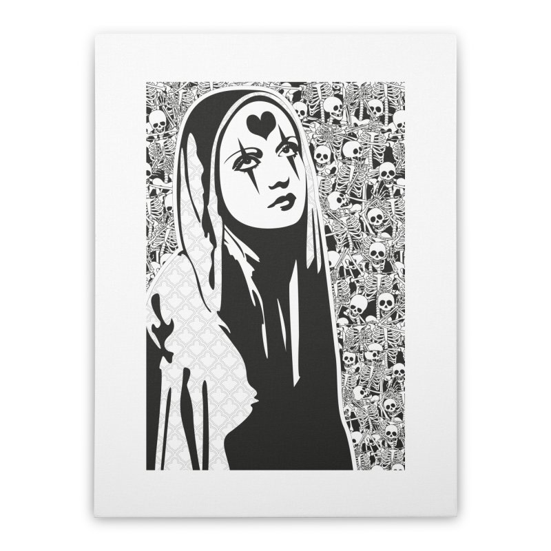 MiaDonna Home Stretched Canvas by DolceQ's Artist Shop