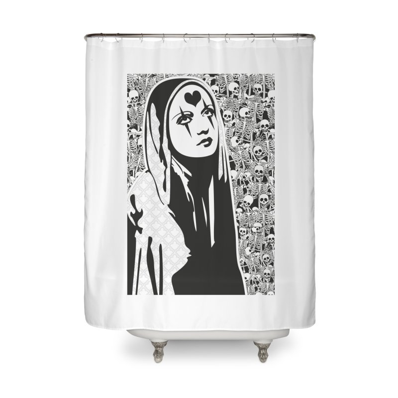 MiaDonna Home Shower Curtain by DolceQ's Artist Shop