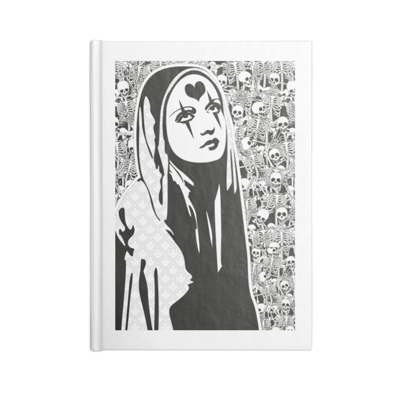MiaDonna Accessories Notebook by DolceQ's Artist Shop