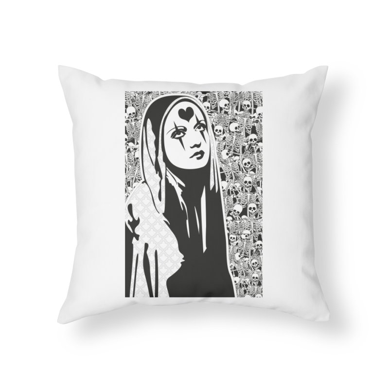 MiaDonna Home Throw Pillow by DolceQ's Artist Shop