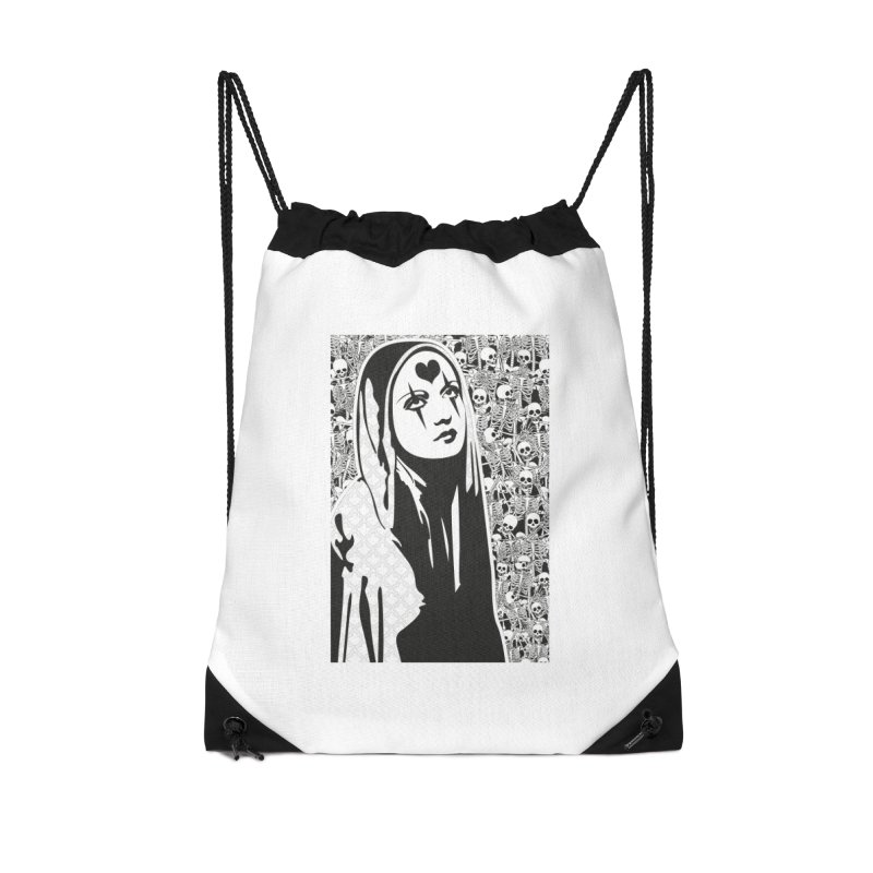 MiaDonna Accessories Drawstring Bag Bag by DolceQ's Artist Shop