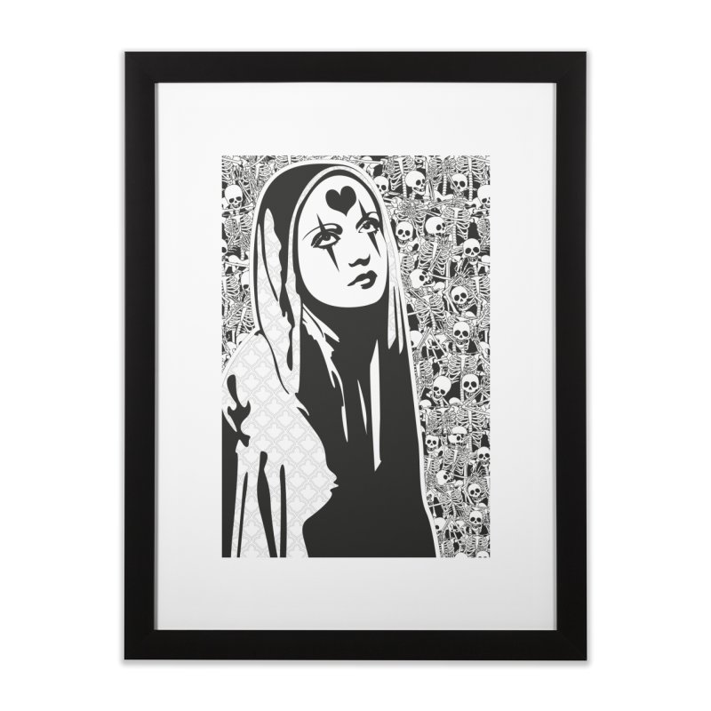 MiaDonna Home Framed Fine Art Print by DolceQ's Artist Shop