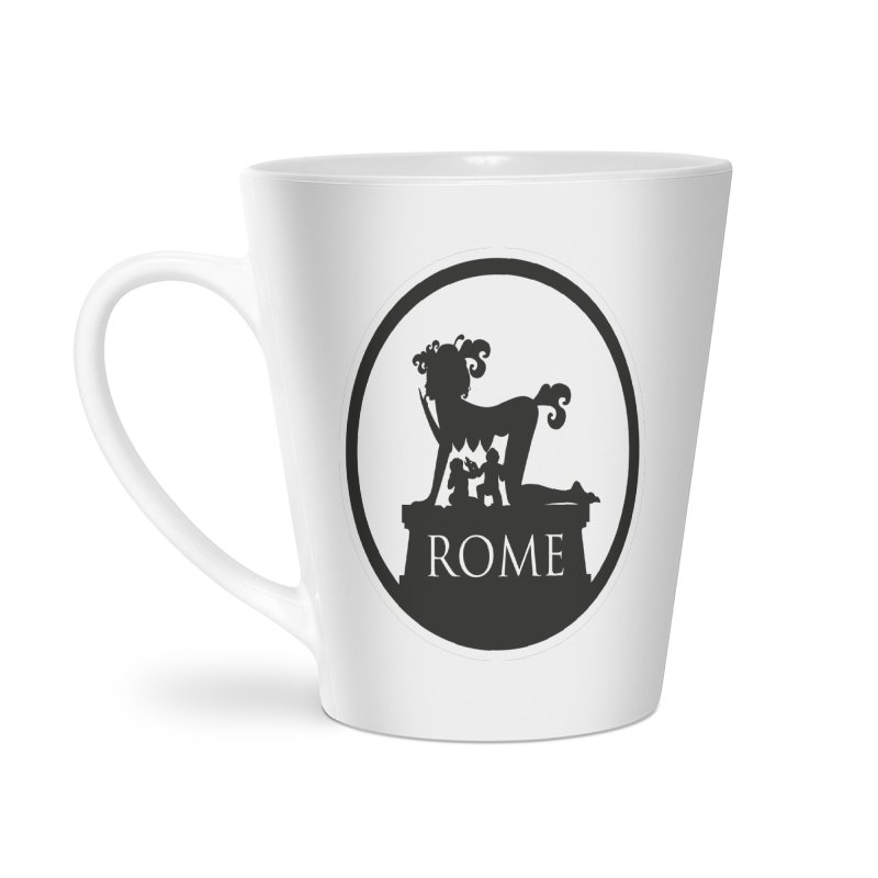 Mamma Roma Accessories Latte Mug by DolceQ's Artist Shop
