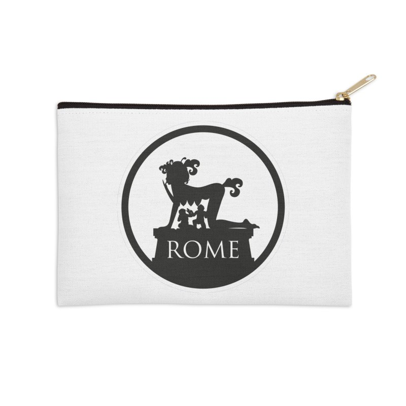 Mamma Roma Accessories Zip Pouch by DolceQ's Artist Shop