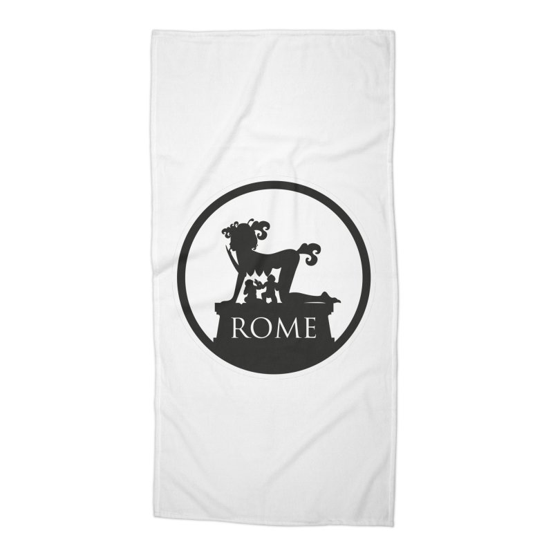 Mamma Roma Accessories Beach Towel by DolceQ's Artist Shop