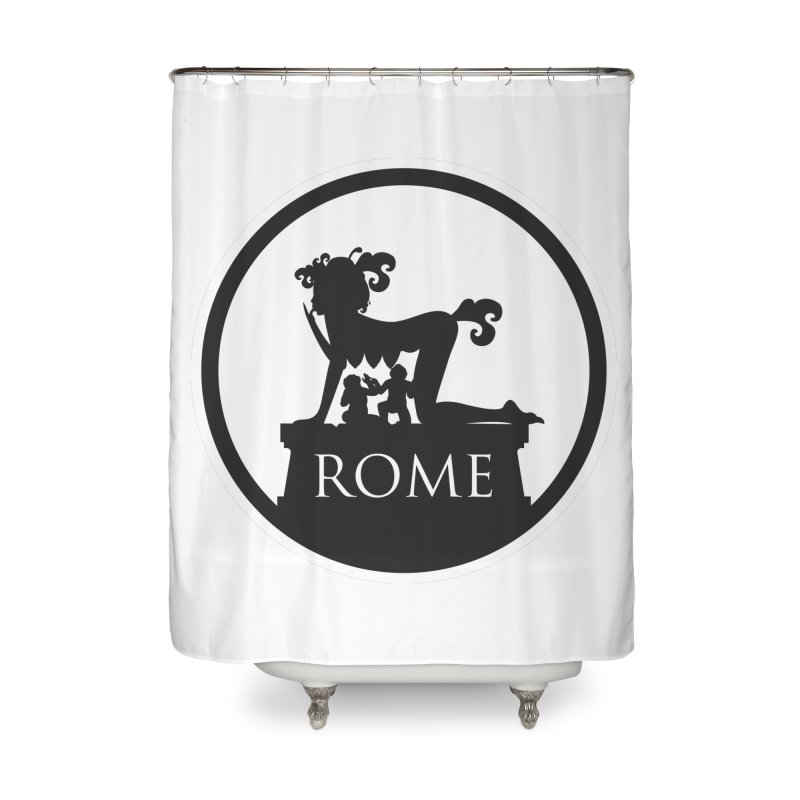 Mamma Roma Home Shower Curtain by DolceQ's Artist Shop