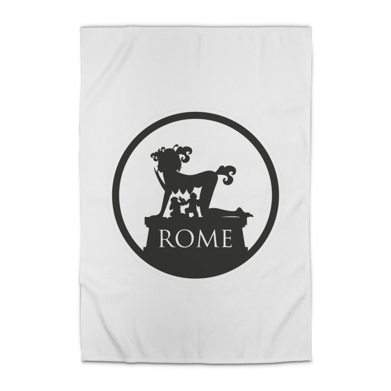 Mamma Roma Home Rug by DolceQ's Artist Shop