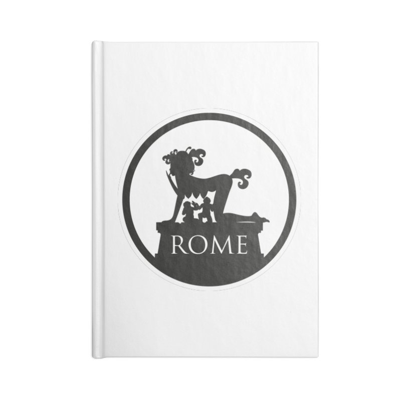 Mamma Roma Accessories Lined Journal Notebook by DolceQ's Artist Shop