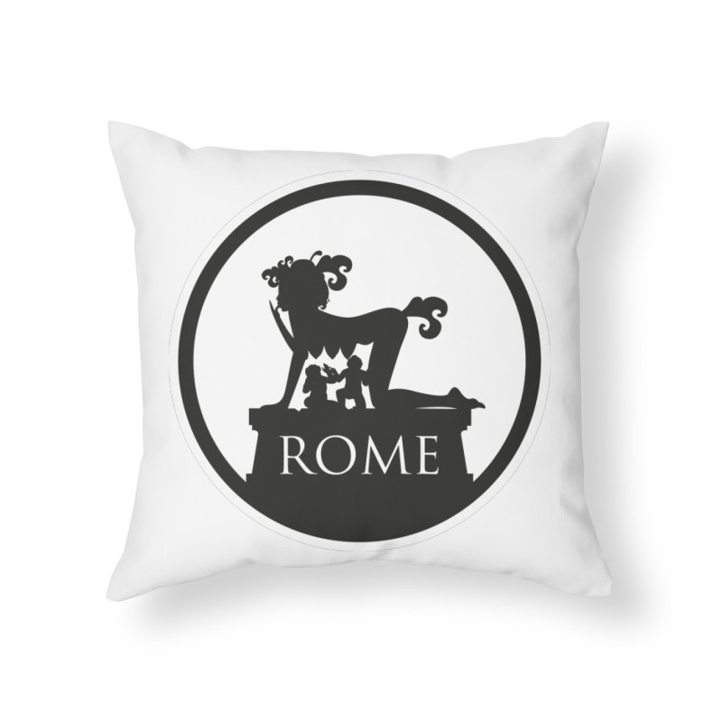 Mamma Roma Home Throw Pillow by DolceQ's Artist Shop