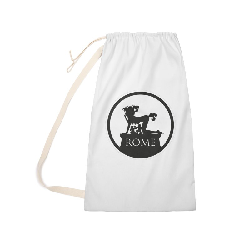 Mamma Roma Accessories Laundry Bag Bag by DolceQ's Artist Shop