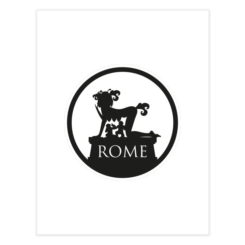 Mamma Roma Home Fine Art Print by DolceQ's Artist Shop
