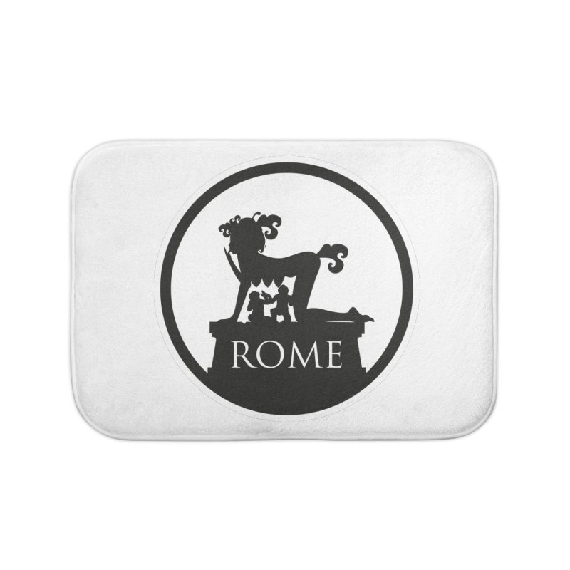 Mamma Roma Home Bath Mat by DolceQ's Artist Shop