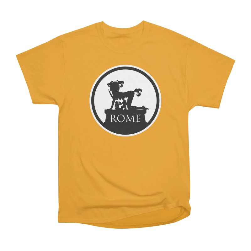 Mamma Roma Men's Heavyweight T-Shirt by DolceQ's Artist Shop
