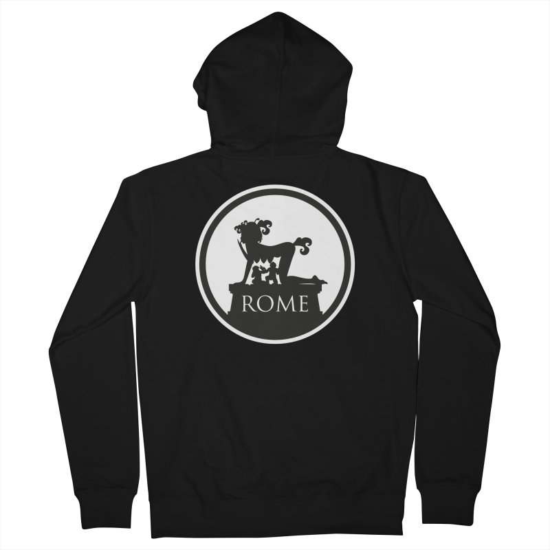 Mamma Roma Men's Zip-Up Hoody by DolceQ's Artist Shop