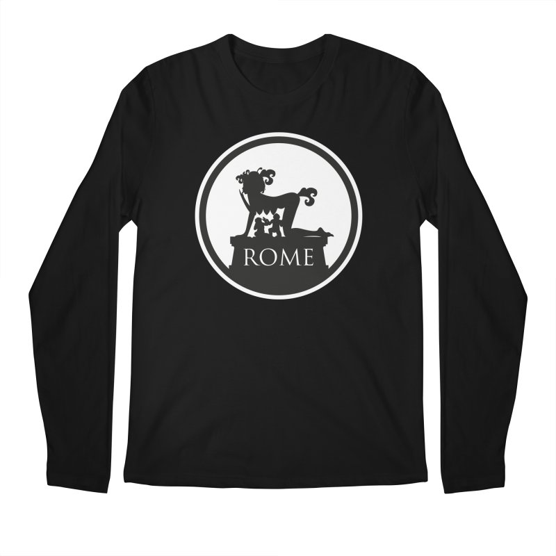 Mamma Roma Men's Longsleeve T-Shirt by DolceQ's Artist Shop