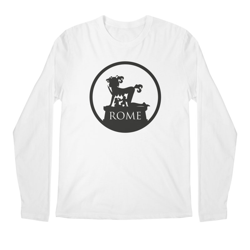 Mamma Roma Men's Longsleeve T-Shirt by DolceQ's Artist Shop