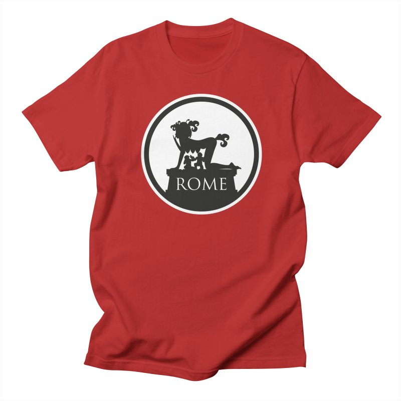 Mamma Roma Men's T-shirt by DolceQ's Artist Shop