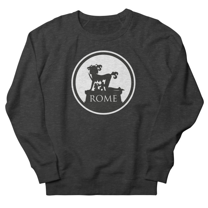 Mamma Roma Women's French Terry Sweatshirt by DolceQ's Artist Shop