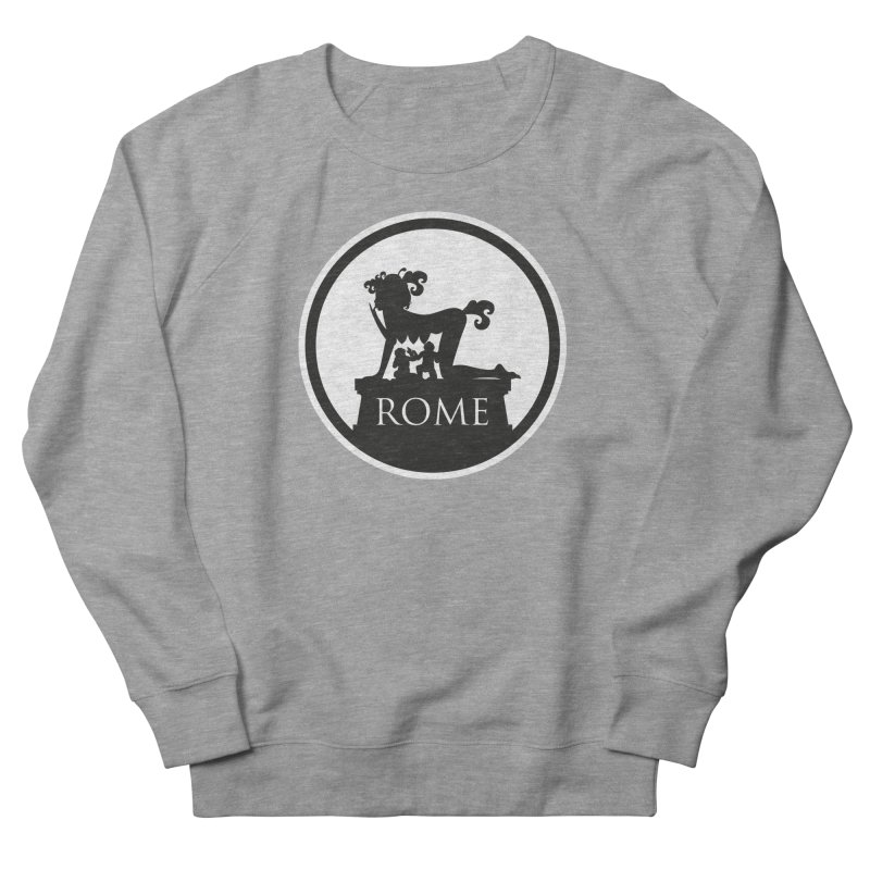 Mamma Roma Men's French Terry Sweatshirt by DolceQ's Artist Shop