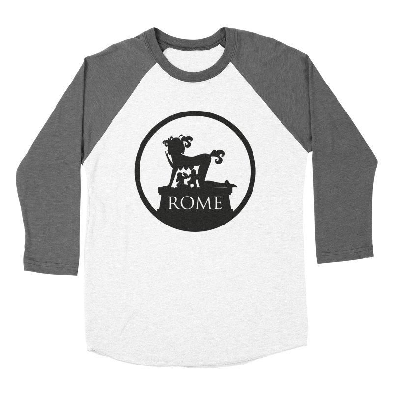 Mamma Roma Women's Baseball Triblend Longsleeve T-Shirt by DolceQ's Artist Shop