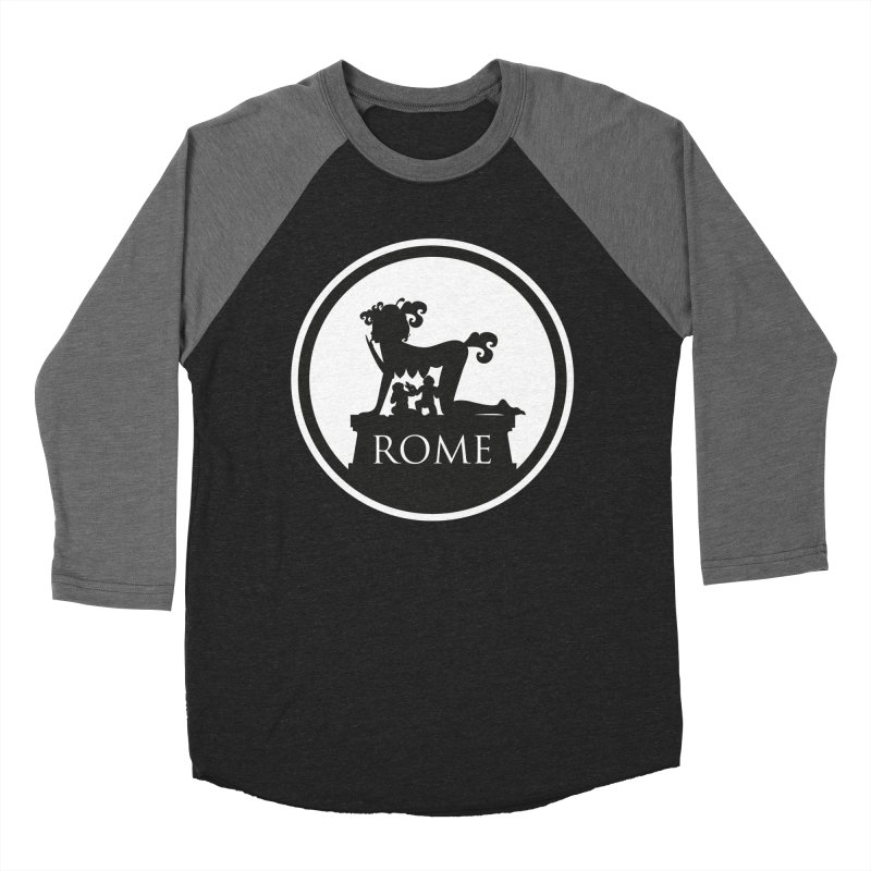 Mamma Roma Women's Baseball Triblend T-Shirt by DolceQ's Artist Shop